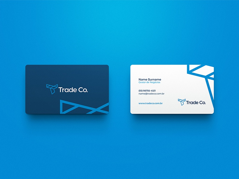 Business card trade company