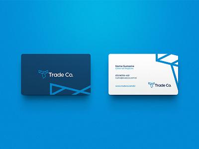 Trade Co. / Branding branding brand brand identity logo mark marca symbol
