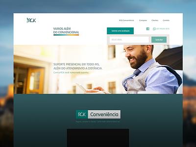 RCK / Branding / Website website site branding brand brand identity logo mark marca symbol