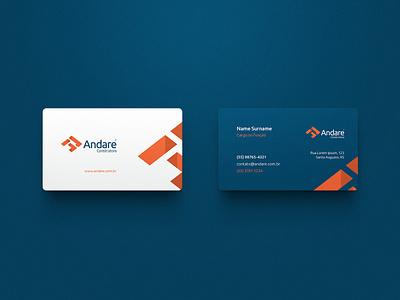 Andare / Branding corporate identity symbol marca mark logo brand identity brand branding