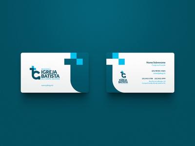Primeira Igreja Batista de Campo Grande / Branding visual identity corporate identity symbol mark marca logo brand brand identity branding