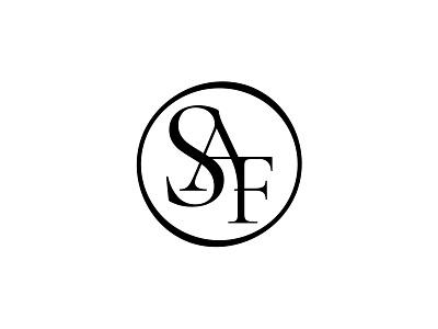 SAF / Monogram monogram visual identity corporate identity symbol mark marca logo brand identity brand branding