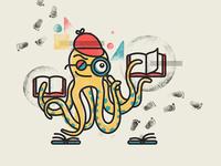 Curiosity Cruiser Octopus Character