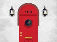 Knock Knock  Illustration | Houstonia Magazine
