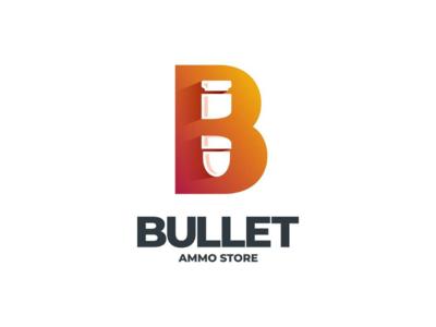 Bullet negative space doublemeaning logodesigner logodesigns branding brand vector design logo bullet