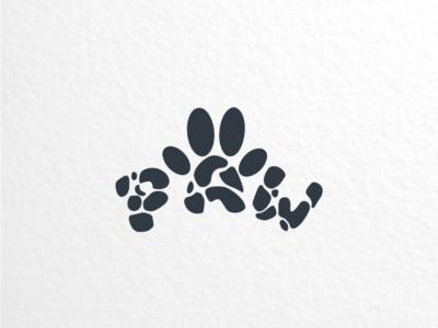 PAW branding brand dualmeaning creativelogo graphicdesigns logodesigner logodesigns design logo paw apparel puppies dog animal
