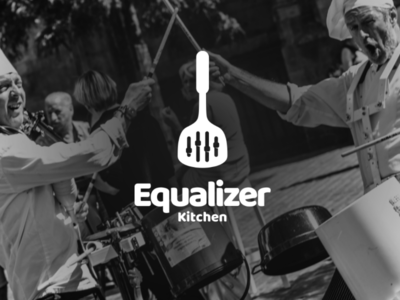 Equalizer kitchen logoinspirations creativelogo brandidentity branding brand graphicdesigner graphicdesigns graphic design logodesigner logodesign logo percussion