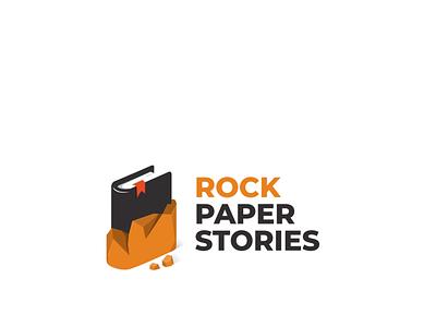 rock paper stories doublemeaning graphicdesign logodesign vector branding logodesigns design illustration brand logo