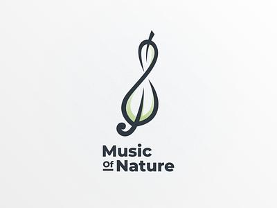 music of nature logodesigner branding vector dualmeaning doublemeaning logodesigns design illustration brand logo