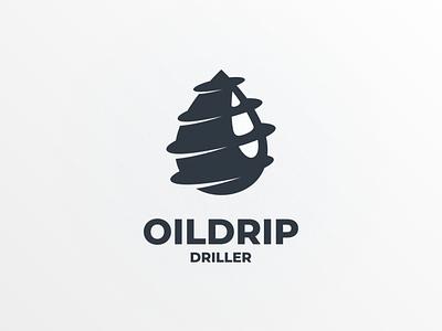 oildrip driller oilgas oil branding brand logodesign doublemeaning logodesigns animal illustration vector logo ui