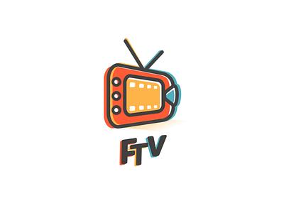 ftv logo branding dualmeaning brand logodesigner doublemeaning logodesigns design illustration vector logo