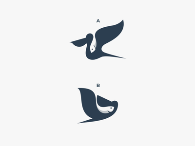 Fish Delivery logodesigns doublemeaning dualmeaning branding design logodesign illustration brand vector logo