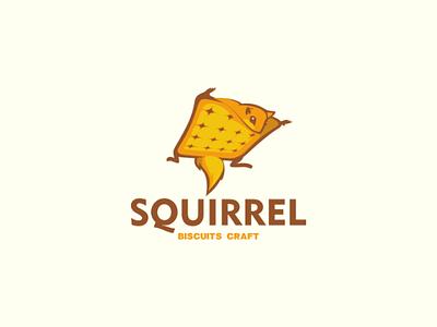 Squirrel biscuit craft animal bakery food biscuit flying squirrel