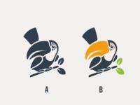 Toucan logo concept