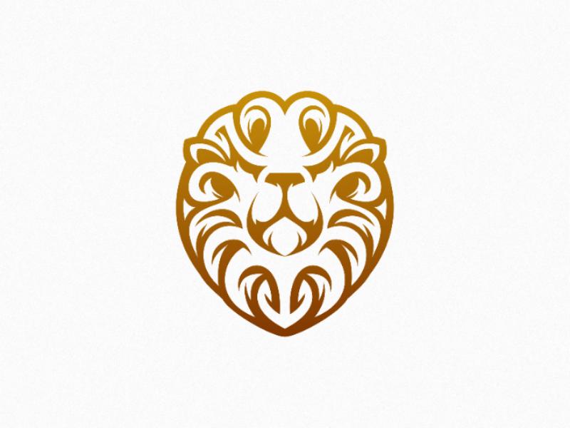 Beast illustration vector design logo cat lion wild animal beast