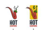 Hot saxophone