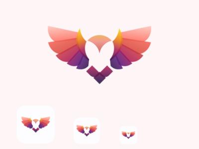 Owl modern illustration