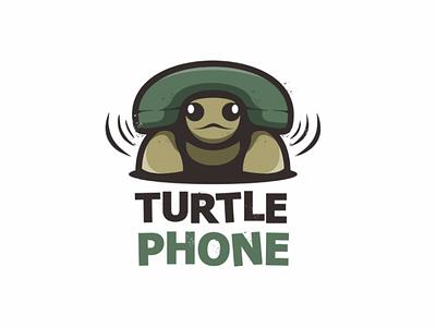 Turtle phone creativelogo logoinspiration vector brand logodesign logo telephone turtle