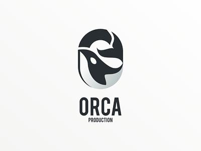 Orca companylogo brand vector logoinspiration logodesign logo whale orca