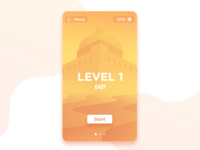 Castle - Mobile game UI 1