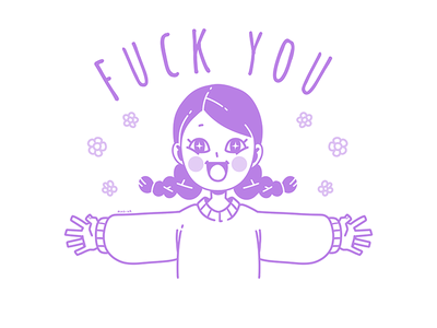 Fuck You t-shirt design