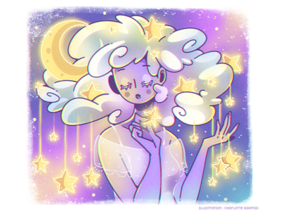Cloud Hair - Night time