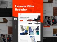 Herman Miller Homepage
