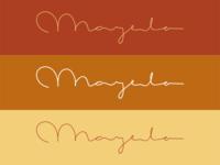 Mayela - Logo Lettering