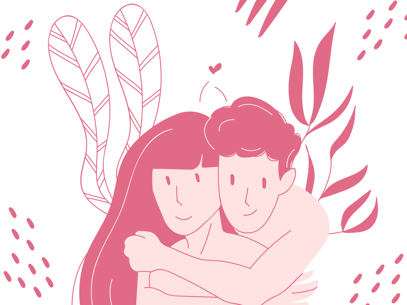 """Us"" Illustration illustrator ux ui minimal website vector flat web design illustration"