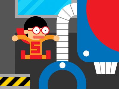 Interactive Resume Website website web webdesign web design illustration infographic cartoon fun html portfolio