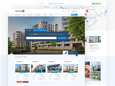 Dopoznania.pl redesign dopoznania poznan redesign apartament house web design ux ui estate real
