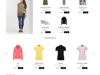 Gomez - Premium Brands search clean product page premium clothing fashion online shop minimal website animation web ux typography ui design