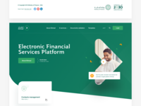 Etimad landing page