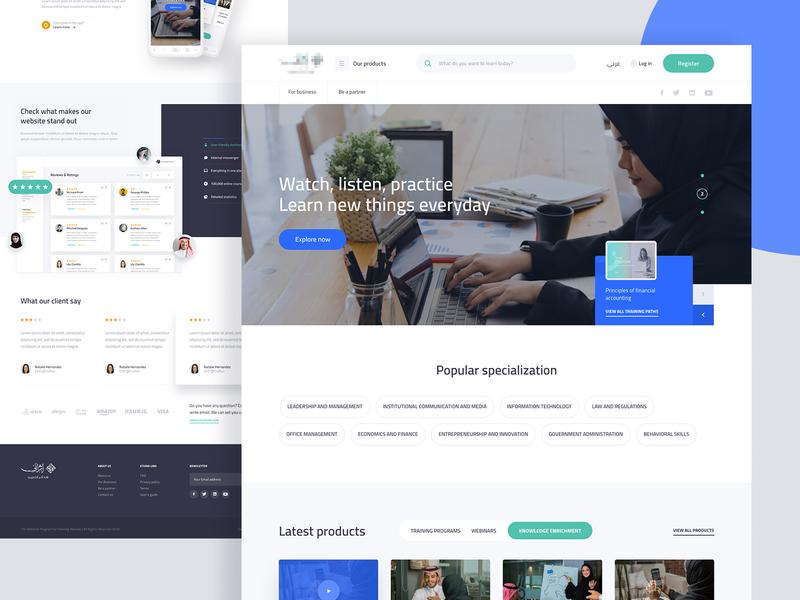Learning Platform - Saudi Arabia