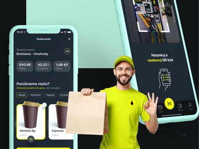Refueling iOS app concept - CASE STUDY userinterface userexperience ios interfacedesign goodrequest mobile ux ui concept car