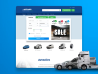 Autoalles - car seller Homepage preview
