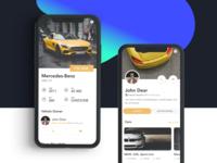 Drift, Social Network For Motorist - Design Concept