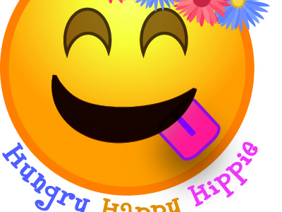 Hungry Happy Hippie Logo
