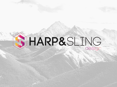 Design Company Branding - Harp and Sling