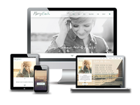 New Singer Songwriter Website Design