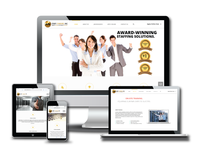 Staff Agency Website Design