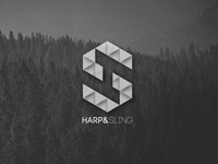 Logo and Branding - Harp and Sling Design