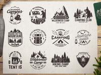 Adventure Camp Badges