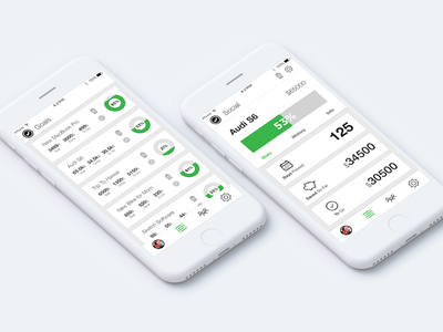 Goalz - JumpStart App UI apple mockup design ux ui app ios