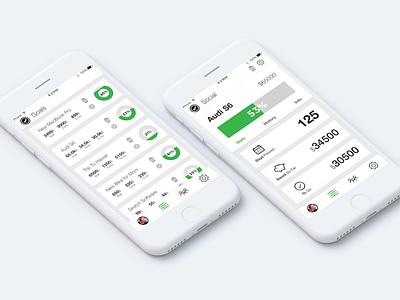 Goalz - JumpStart App UI apple mockup design ux ui app ios
