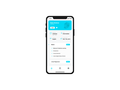 Continuity - UI Monday #5 learning platform course ux ui new uimonday clean mobile app motion animation adobexd madewithadobexd
