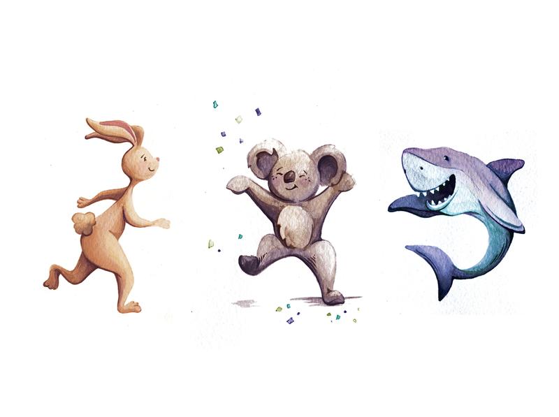 Happy little character fun childrens book art childrens book characters pen  ink illustration
