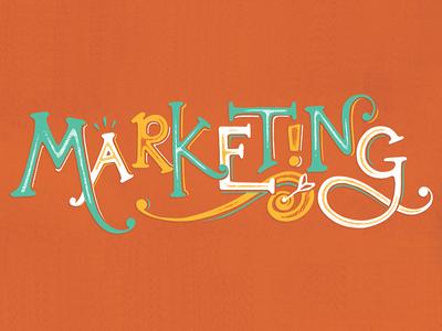 Marketing lettering