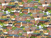William & Mary Campus Wrapping Paper