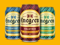 Enegren Brewing Co. Cans
